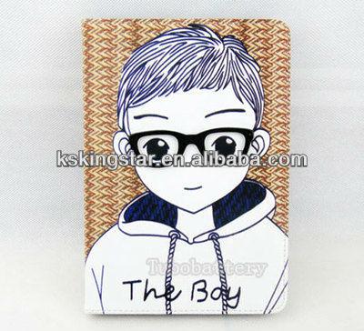 lovely girl for ipad mini printing case