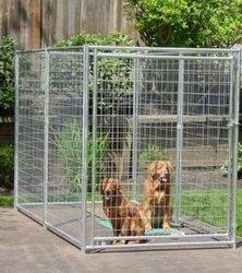 Large Galvanized Dog Kennel Wholesale Factory