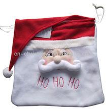 Promotional santa claus christmas bag/Xmas gift bag