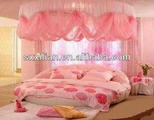 luxury design roofed round bedding set/linen/sheet