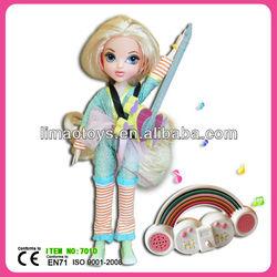 lovely musical little girl doll models