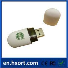 8GB Plastic USB Flash Memory