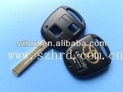 Toyota key 2 buttons shell Toy48 and toyota key blank toyota rav4 keys wholesale and retail