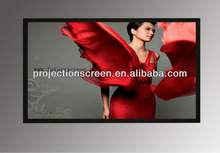 6cm black velvet Fixed Frame Projection Screen,The movie enthusiasts best choice screen, Black velvet ,customized size