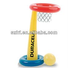 Inflatable Basketball Stand with Ball Set