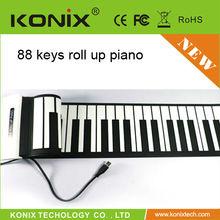 recording forlding keyboard piano midi