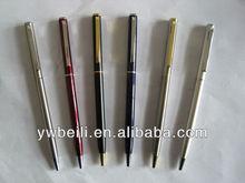 cheap luxury high quality thin fountain mini metal pen