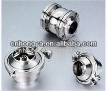 Sanitary check valves