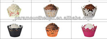 Butterfly Cupcake Wrapper, Muffin Wrap, cupcake decoration