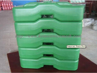 2015 Direct factory!!! Selling!!! Australia green HDPE temporary fence feet 18-year professional factory