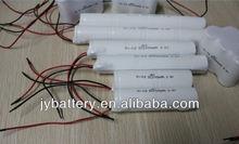 lighting rechargeable battery 2.4v 2100mAh 3.6v 2000mAh