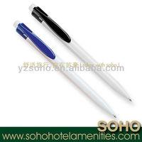 5 star hotel plastic advertising ball pen