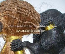 100% Virgin Indian Hair Soft Handtied Hair Weft Wholesale Price
