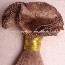 100% Virgin Chinese Hair Soft Handtied Hair Weft Wholesale Price