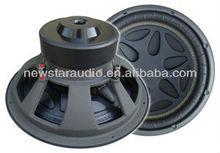 12 inch dual magnet steel subwoofer