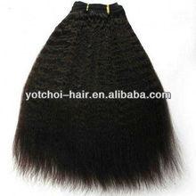 """Best selling 18"""" cheap virgin indian/brazilian/peruvian cheap virgin hair extension"""