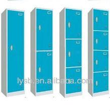 1&2&3&4 tiers compartment steel mini locker colorful