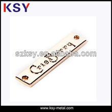 (2013)Fancy Handbag Metal Tags/Custom Metal Bag Tags/Metal Tags Manufacturing