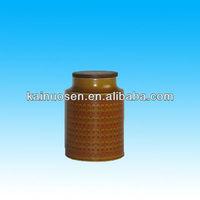brown large ceramic storage jars