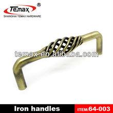 Metal drawer handle