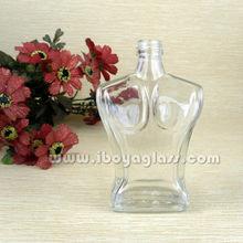 Corps sexy en forme de bouteille de parfum, bouteille cosmétique