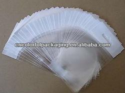 Self adhesive comic bag/Opp transparent plastic self adhesive toy bags