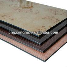 insulated aluminum sandwich panel heat resistant and fireproof/aluminum composite panel