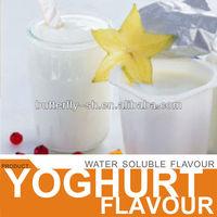 Yoghurt flavour in ice cream