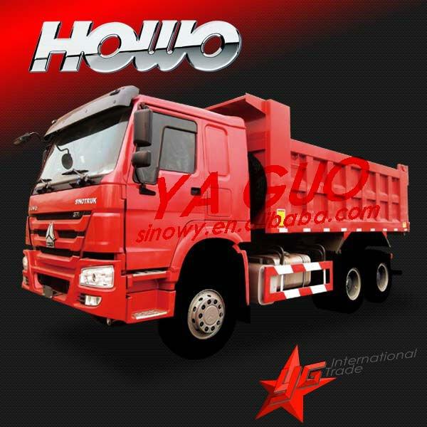 SINOTRUCK 6X4 howo tippers brand new toyota van