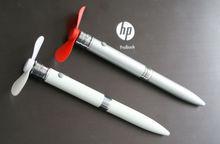 Yiwu stock novelty pen fan pen with fan fan prn