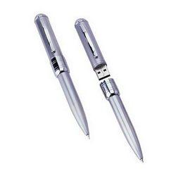 2gb usb flashdisk metal ball pen shenzhen factory