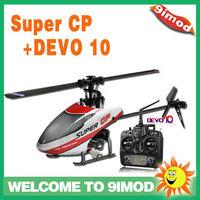 Walkera New heli!Walkera Super CP 6CH flybarless rc helicopter W/T DEVO 10 Transmitter