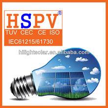High Efficiency Mono 100w Solar Panel 12v