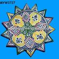 hot 2013 maroc en porcelaine assiette en céramique