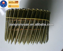 comptitive price JRY Q195 needle point coil nail with vinly coated (supplier)