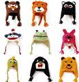 Chapéus de crochê animais para crianças