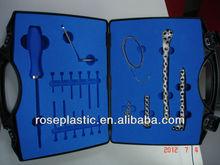 medical tools plastic show case