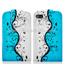 NO.1 For Blackberry Q10 new luxury pattern TPU leather flip case