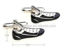 en popüler futbol yenilik kol düğmesi ayakkabılar emaye