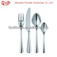Stainless Steel Restaurant Fork Knife Spoon Sets, Set of 4pcs