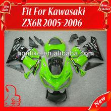 Motorcycle Fairings for KAWASAKI Ninja ZX6R 05-06 2005-2006 ZX-6R 2005 2006 ZX6R ZX 6R 05 06 ABS Body Kits