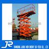 Pneumatic tyre hydraulic ladder lift