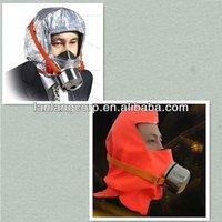 full face fire fighter single cartridge chemical mask respirator