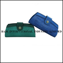 2013 leather fashion clutch lock closures