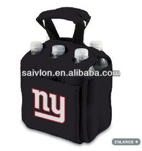Six pack water/wine /beer bottle/can cooler bag