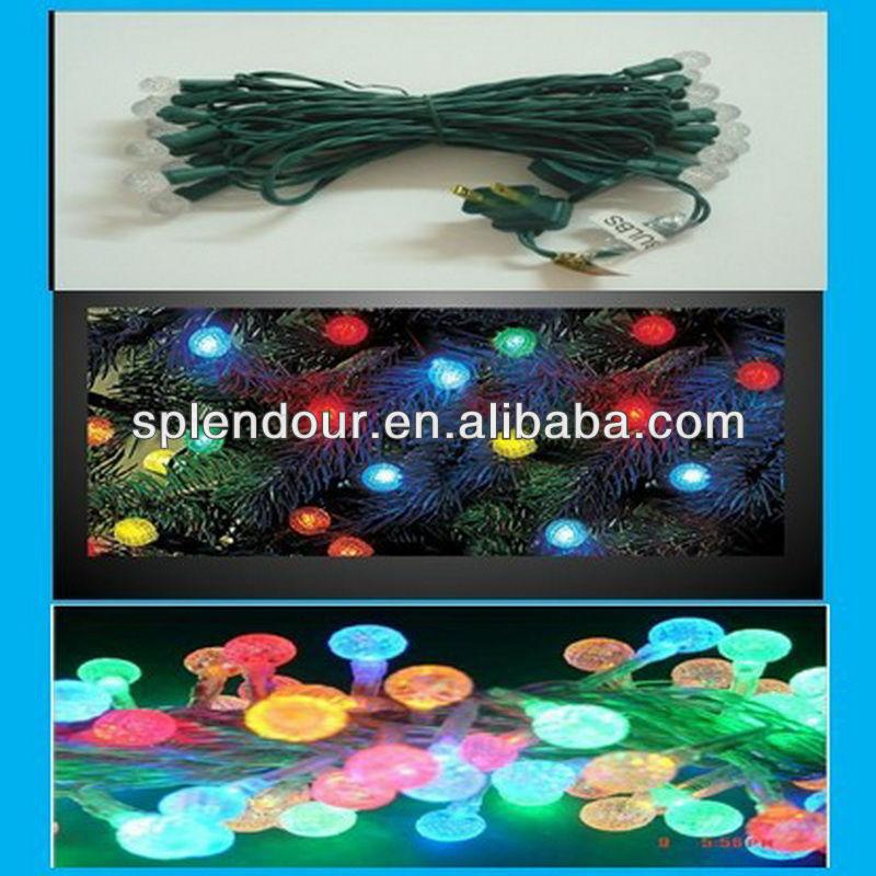 Pine nut RGB color changing LED string light/LED garland