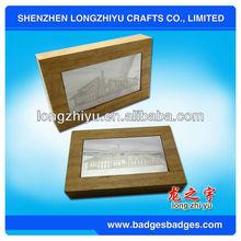 Fashion custom photo frame wood corners for sale