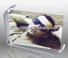 clear rotate acrylic photo frame