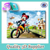 PET lenticular 3d cartoon animal pictures of mickey