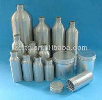 large aluminum bottle, essential oil bottle, aluminum cosmetic jar container